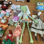 16 января в общественном центре «Громова», прошло очередное мероприятие кружка «Текстильная кукла»