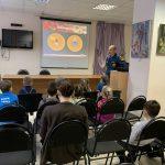 7 февраля в общественном центре «Центральный» прошла лекция по пожарной безопасности
