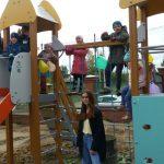 В Свердловском районе города Перми реализован проект - победитель XXIII городского конкурса социально значимых проектов «Город – это мы», «Дворик детства на территории женского монастыря»